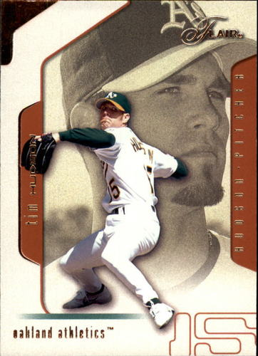 Photo of 2002 Flair #59 Tim Hudson
