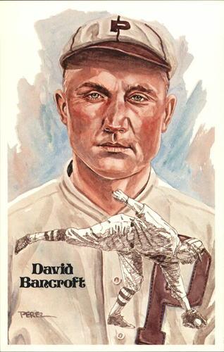 Photo of 1980-02 Perez-Steele Hall of Fame Postcards #119 David Bancroft -- Set #08689