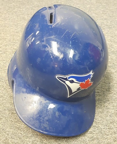 Authenticated Team Issued Helmet - #47 Miguel Montero. Size 7 1/4.