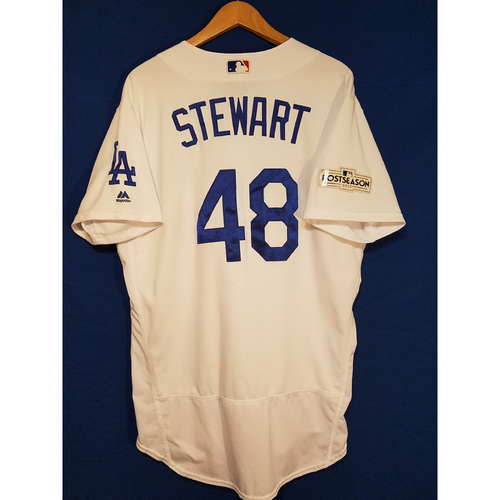 Photo of Brock Stewart Home 2017 Team-Issued Post Season Jersey