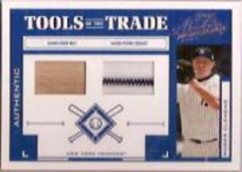 Photo of 2004 Absolute Memorabilia Tools of the Trade Material Combo #128 R.Clem Yanks Bat-Jsy/250