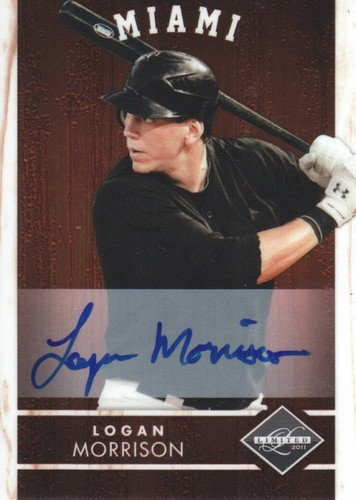 Photo of 2011 Limited Signatures #28 Logan Morrison/299