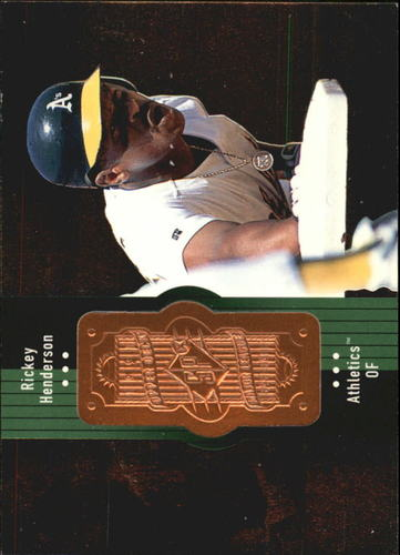 Photo of 1998 SPx Finite #110 Rickey Henderson