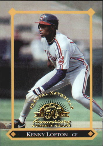 Photo of 1998 Leaf Fractal Materials #150 Kenny Lofton CC PX