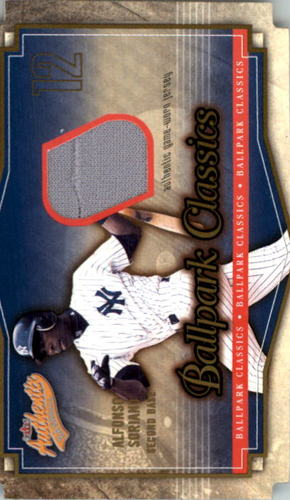 Photo of 2004 Fleer Authentix Ballpark Classics Jersey #AS Alfonso Soriano