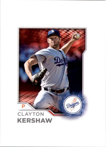 Photo of 2017 Topps Opening Day MLB Sticker Collection Stars #212 Clayton Kershaw