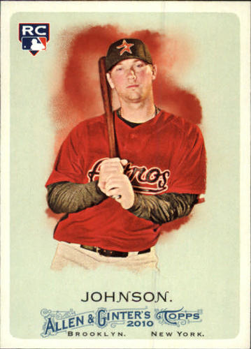 Photo of 2010 Topps Allen and Ginter #210 Chris Johnson RC