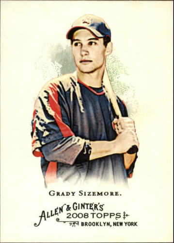 Photo of 2008 Topps Allen and Ginter #190 Grady Sizemore