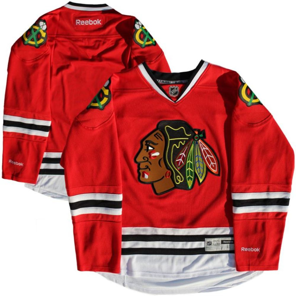 Chicago Blackhawks - Red 2016-2017 Season Reebok Jersey (Size L)
