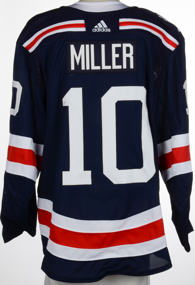 J.T. Miller New York Rangers Game-Worn 2018 NHL Winter Classic Jersey - Assist Recorded In This Jersey