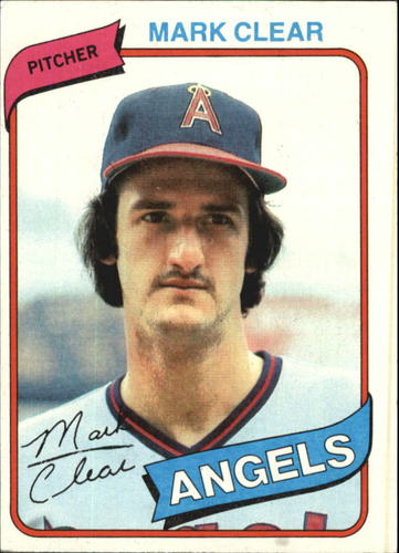 Photo of 1980 Topps #638 Mark Clear RC