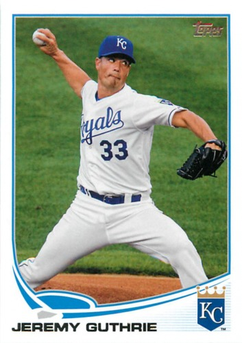 Photo of 2013 Topps #289 Jeremy Guthrie