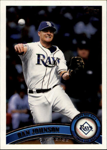 Photo of 2011 Topps #585 Dan Johnson
