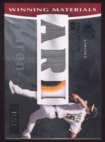 Photo of 2008 SPx Winning Materials Limited Patch Team Initials #DH Dan Haren