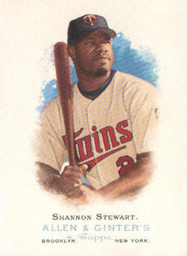 Photo of 2006 Topps Allen and Ginter #249 Shannon Stewart