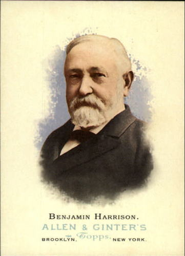 Photo of 2006 Topps Allen and Ginter #330 Benjamin Harrison