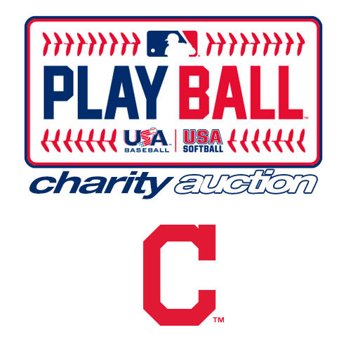 Photo of Play Ball Charity Auction: Cleveland Indians - Take BP on the field