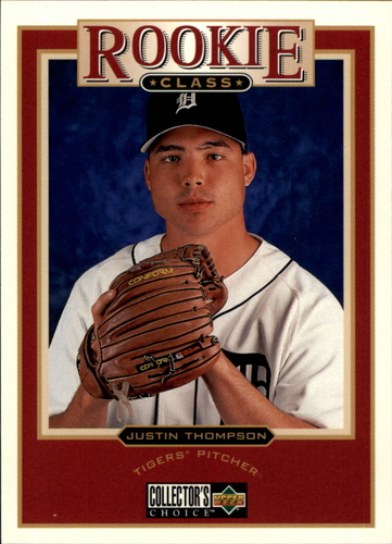 Photo of 1997 Collector's Choice #21 Justin Thompson