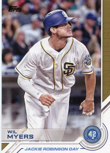 Photo of 2017 Topps Jackie Robinson Day #JRD27 Wil Myers