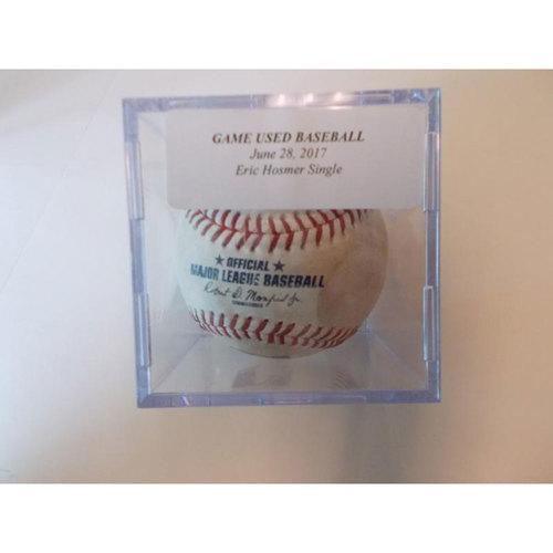 Photo of Game-Used Baseball: Eric Hosmer Single