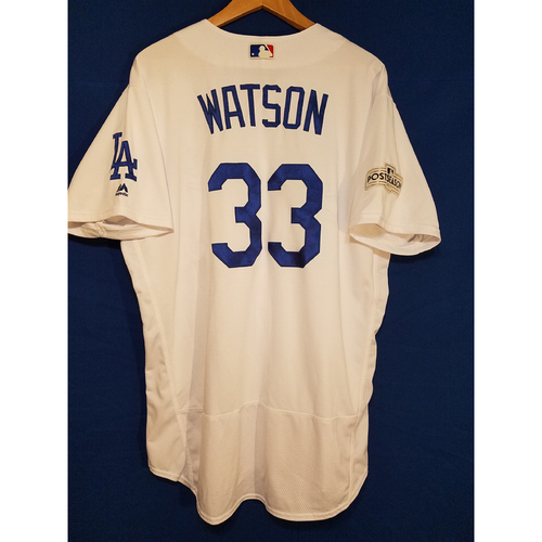 Photo of Tony Watson Home 2017 Team-Issued Post Season Jersey