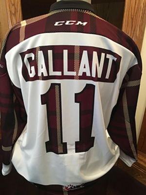 Zach Gallant (#11) - Game-Worn #PetesPlaidNight Jersey