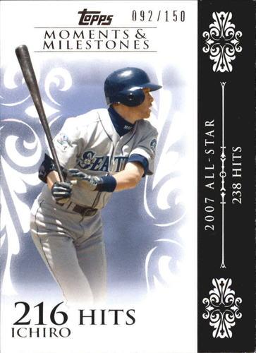 Photo of 2008 Topps Moments and Milestones #63-216 Ichiro Suzuki