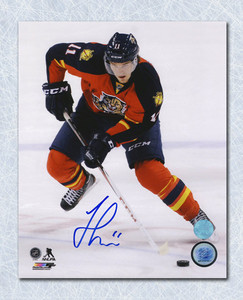 Jonathan Huberdeau Florida Panthers Autographed Playmaker 8x10 Photo