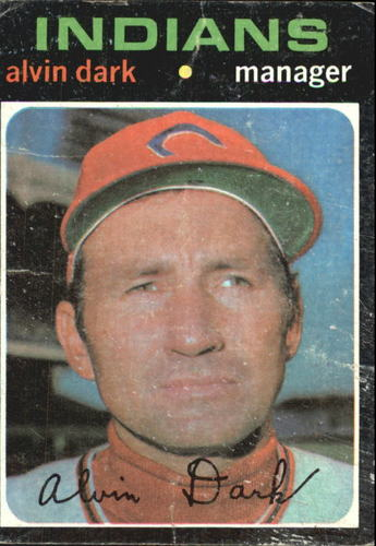Photo of 1971 Topps #397 Alvin Dark MG