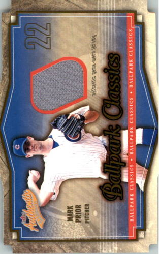 Photo of 2004 Fleer Authentix Ballpark Classics Jersey #MP Mark Prior