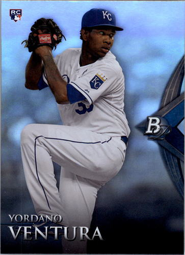 Photo of 2014 Bowman Platinum #84 Yordano Ventura RC