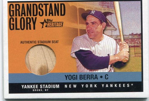 Photo of 2001 Topps Heritage Grandstand Glory #YB Yogi Berra