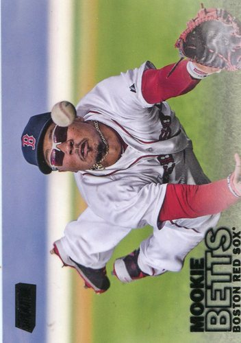 Photo of 2016 Stadium Club Black #141 Mookie Betts