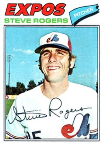 Photo of 1977 Topps #316 Steve Rogers