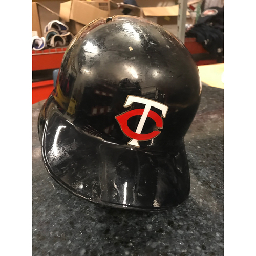 Photo of 2017 Game-Used Helmet - Joe Mauer
