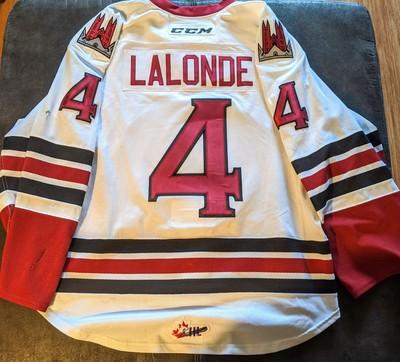 Owen Lalonde #4 Memorial Cup Jersey