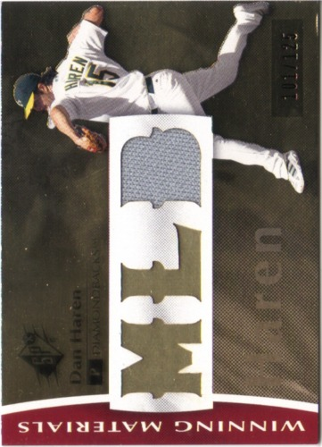 Photo of 2008 SPx Winning Materials MLB 125 #DH Dan Haren