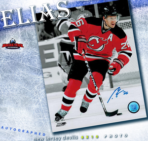 PATRIK ELIAS Signed New Jersey Devils 8 X 10 Photo - 70363