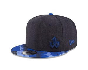 Toronto Blue Jays Jose Bautista Design Dark Denim/Camo Snapback
