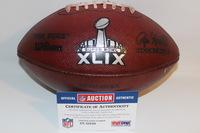 NFL - SUPER BOWL 49 GAME USED FOOTBALL W/ SEAHAWKS LOGO