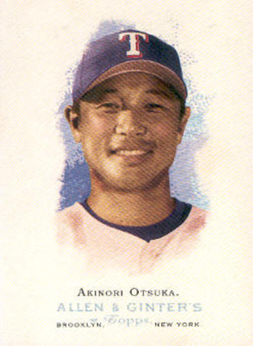 Photo of 2006 Topps Allen and Ginter #119 Akinori Otsuka