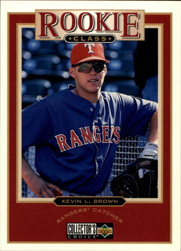 Photo of 1997 Collector's Choice #12 Kevin L. Brown