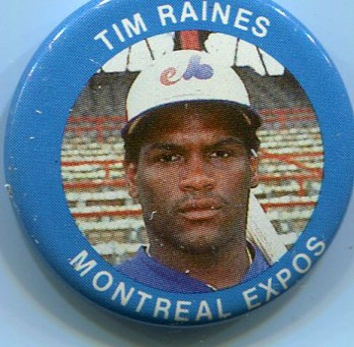 Photo of 1984 Fun Foods Pins #41 Tim Raines