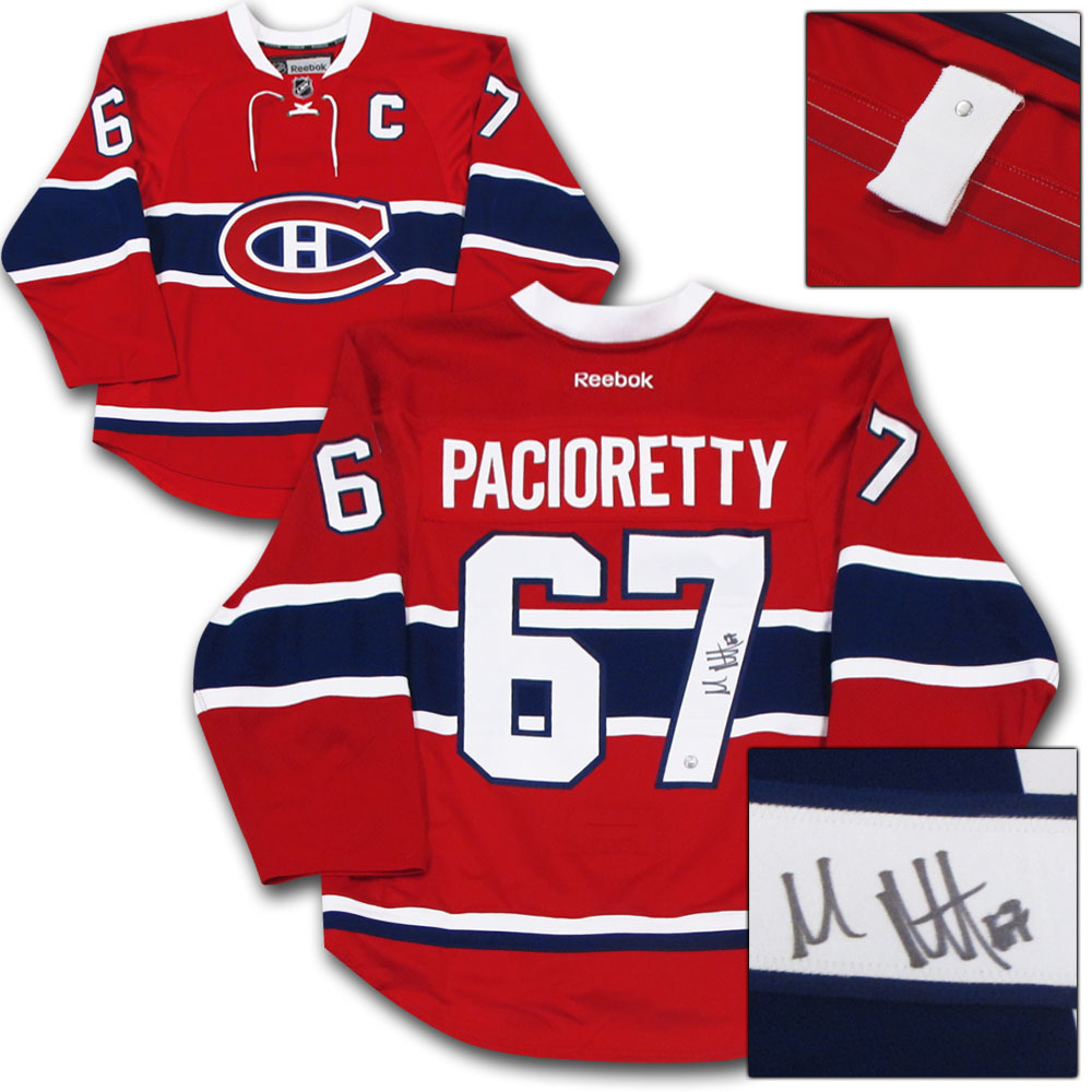 Max Pacioretty Autographed Montreal Canadiens Authentic Pro Jersey