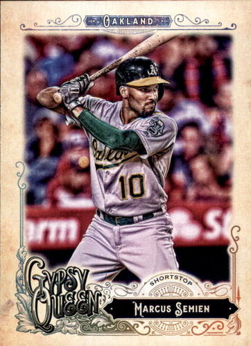 Photo of 2017 Topps Gypsy Queen #3 Marcus Semien