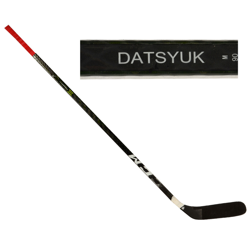 Pavel Datsyuk Team Russia 2016 World Cup of Hockey Tournament-Used CCM Ribcore Broken Hockey Stick