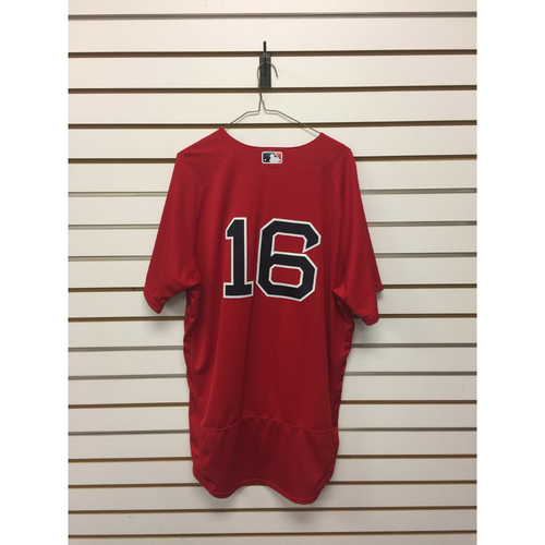 Photo of Devin Marrero Game-Used September 16, 2016 Home Alternate Jersey
