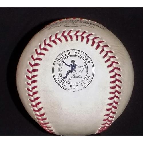 Photo of Adrian Beltre Commemorative Logo Game-Used Baseball 9/8/2017 - Headley/Ellsbury AB's vs. Jake Diekman