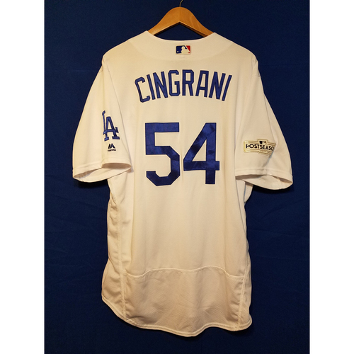 Photo of Tony Cingrani Home 2017 Team-Issued Post Season Jersey