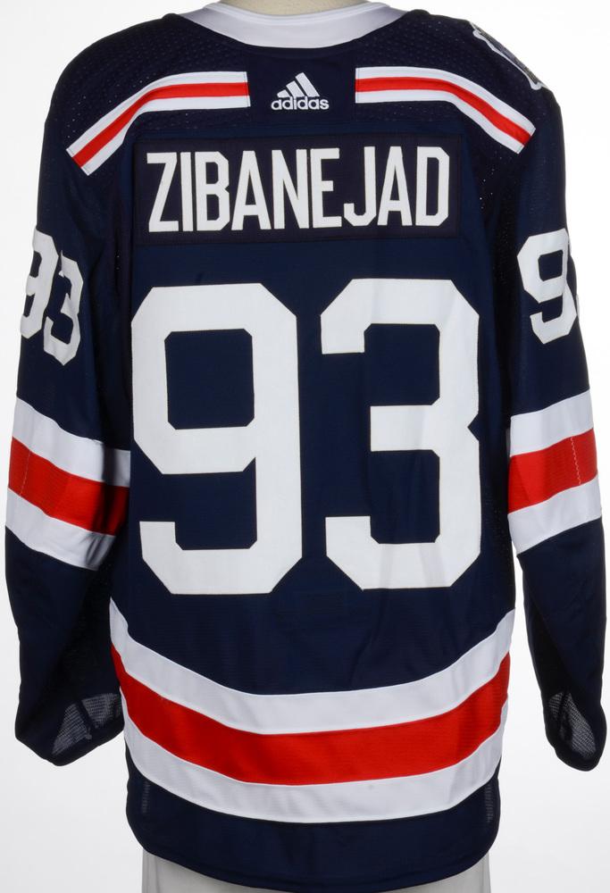 Mika Zibanejad New York Rangers Game-Worn 2018 NHL Winter Classic Jersey
